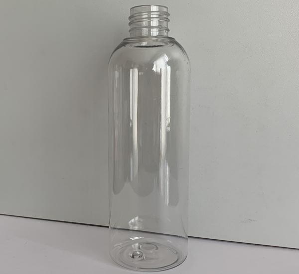 Bt. PET Cristal 200ml mod.haute sans bouchon (24mm)