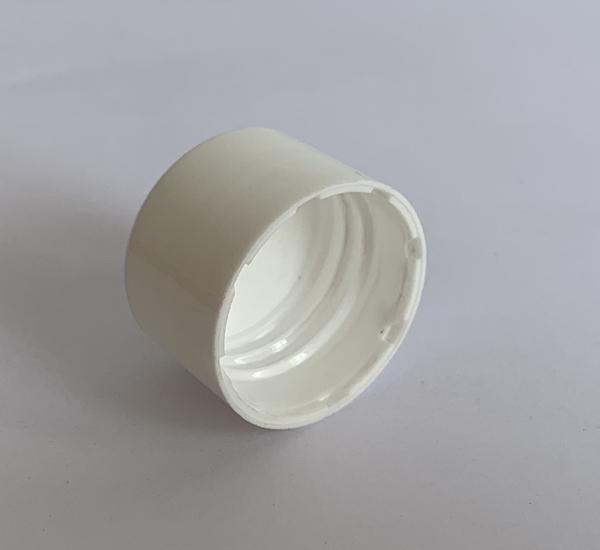 Witte schroefdop 24mm