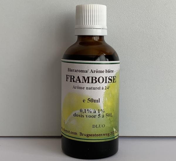 Framboise natuurlijk aroma 50ml