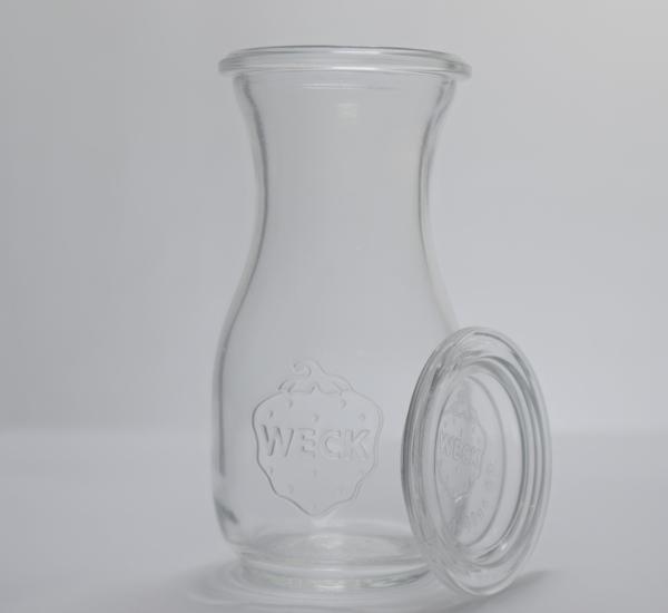 Weck sapfles 50cl+klem+ring 4st (764)