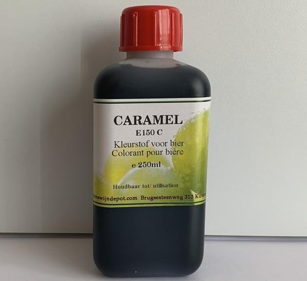 Voedingskleurstof caramel (E150C) 250ml.