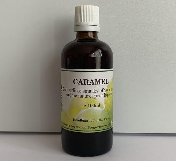 Caramel voedingssmaak 100ml