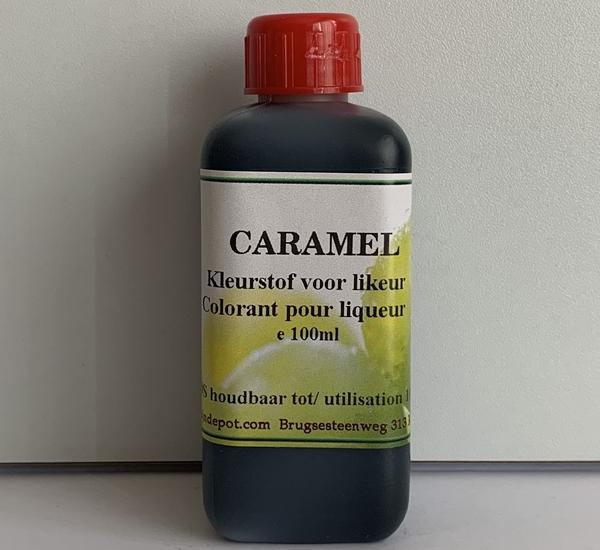 Voedingskleurstof caramel 100ml