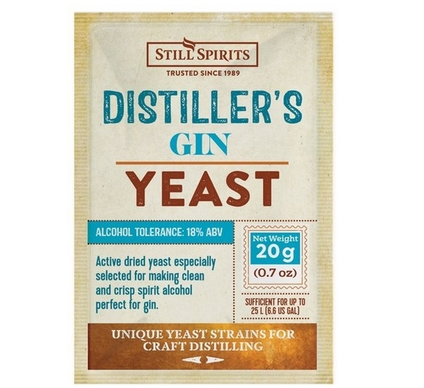 Gin Distiller's Yeast Still Spirits 20g