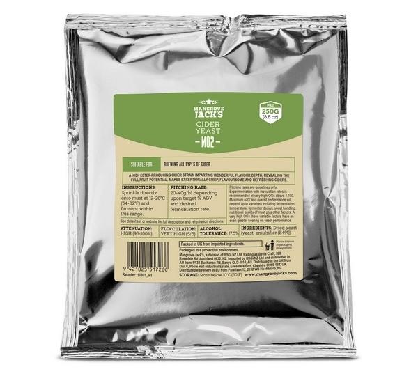 Mangrove Jack's M02 Cider gist 250g