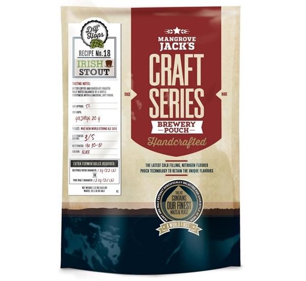 MJ Craft Series Irish Stout met dry hops