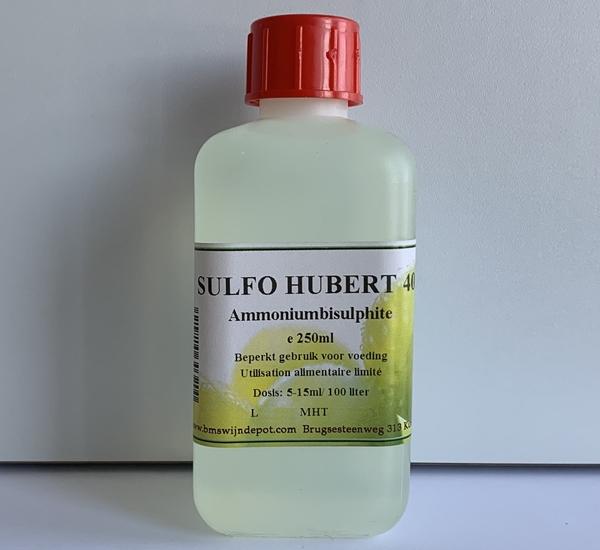 Sulfo Hubert 40 -  ammoniumbisulfiet 250ml