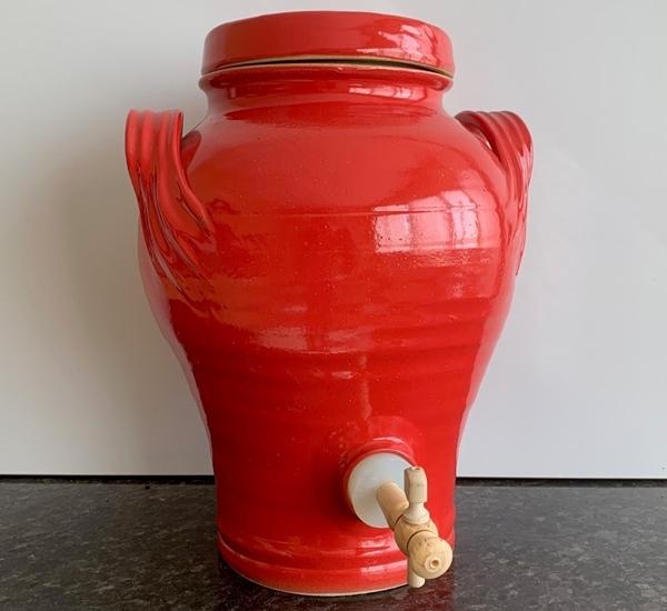 Azijnvat 5L Hibiscus (rood)