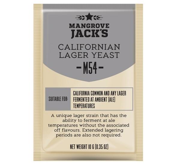 Biergist Mangrove Jack's Californian Lager M54 10g