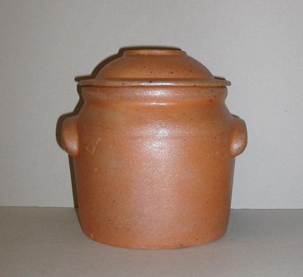 Pot de conserves 1 litre avec couvercle