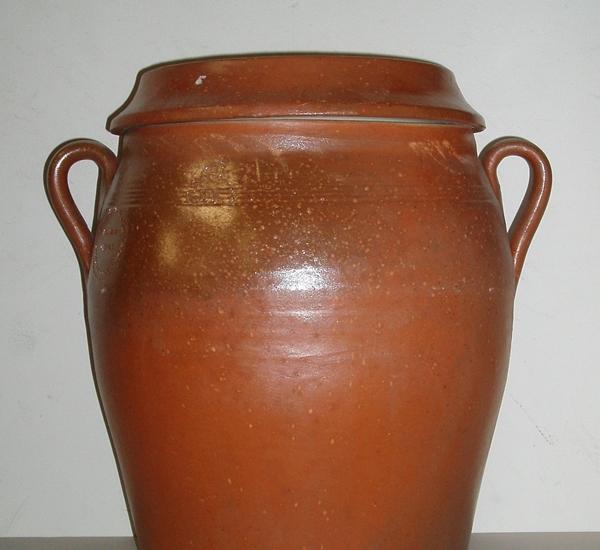 Pot de conserves 25 litres avec couvercle