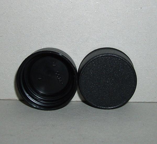 Bouchon noire (28mm)