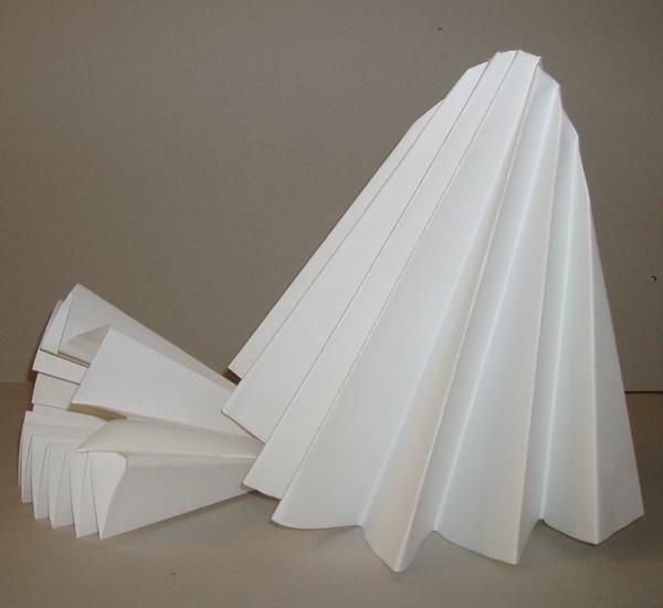 Filterzakken in geplooid papier diam.450mm