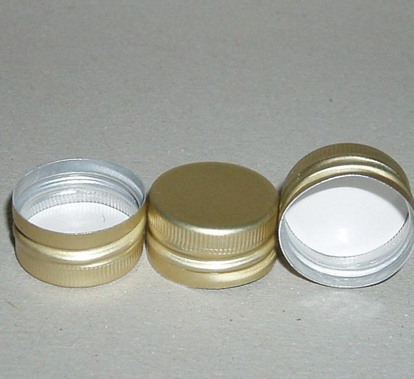 PP capsules 18 x 9 voorgevormd goud  1st