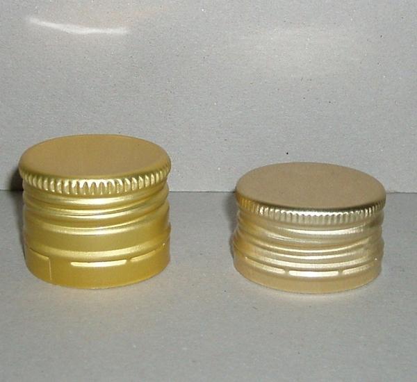 PP capsules 31,5 x 24 voorgevormd goud 100st