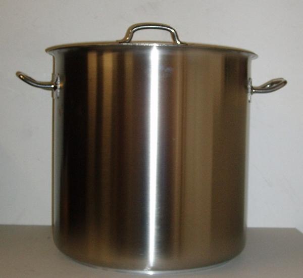 Cuve de brassage inox 36L