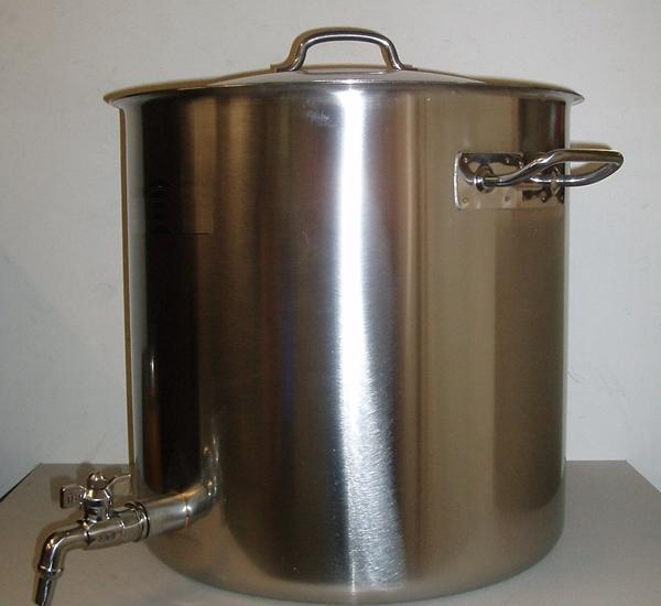Cuve de brassage inox 50L avec robinet