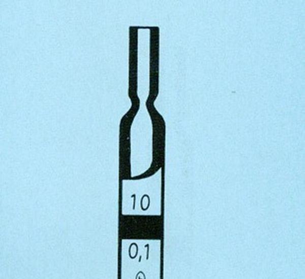 Pipettes de prélèvement gradué 1ml