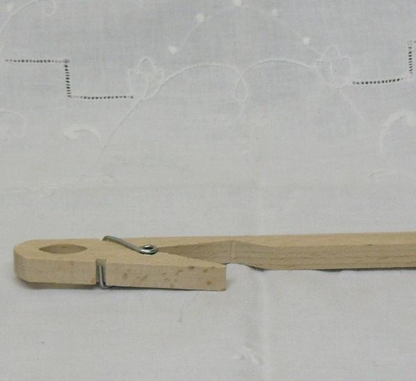 Houten knijper voor proefbuis