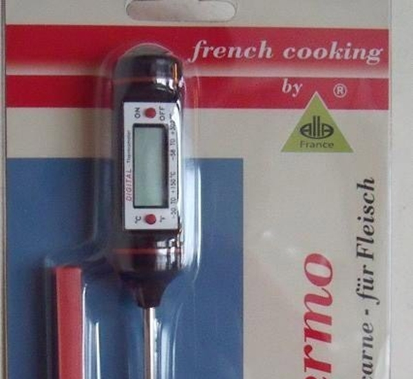 Thermometer digitaal -50+200: 0,1°C thermolab