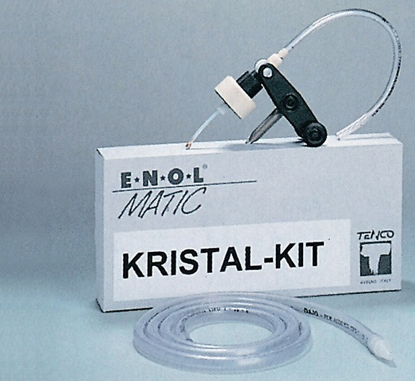 Enol-Matic Kit bouteille Pharmacie/Iris/Tulipe réglable (Cry