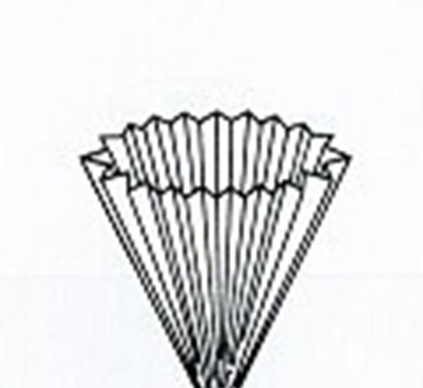 Filterzakken in geplooid papier diam.400mm