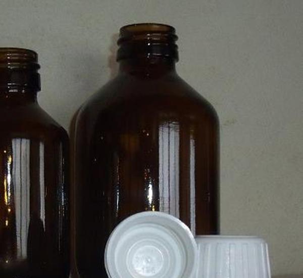 Bouchon à vis scellé blanc (28mm)