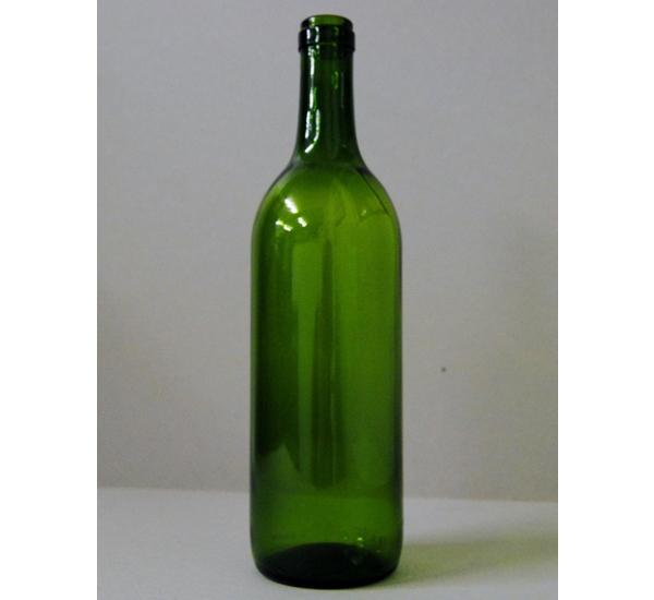 Bordeauxfles 75cl groen