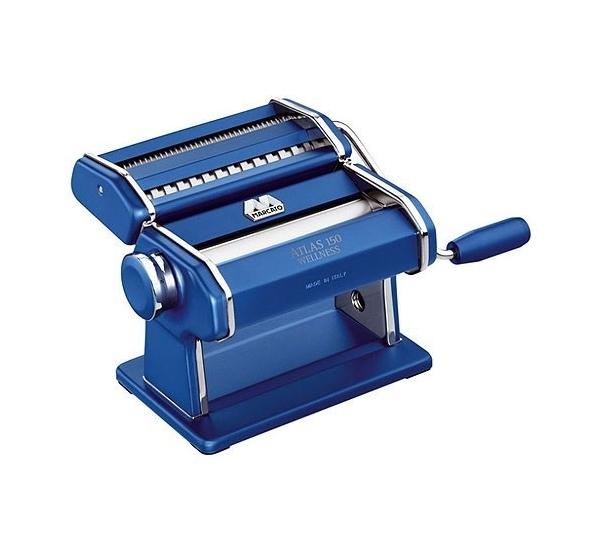 Machine à pâtes Atlas (spaghetti+tagliatelli) bleu- Marcato