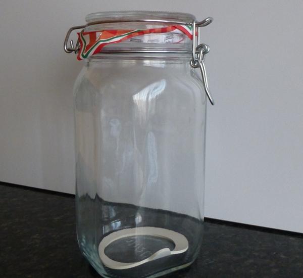 Steriliseerbokaal 1,5 L