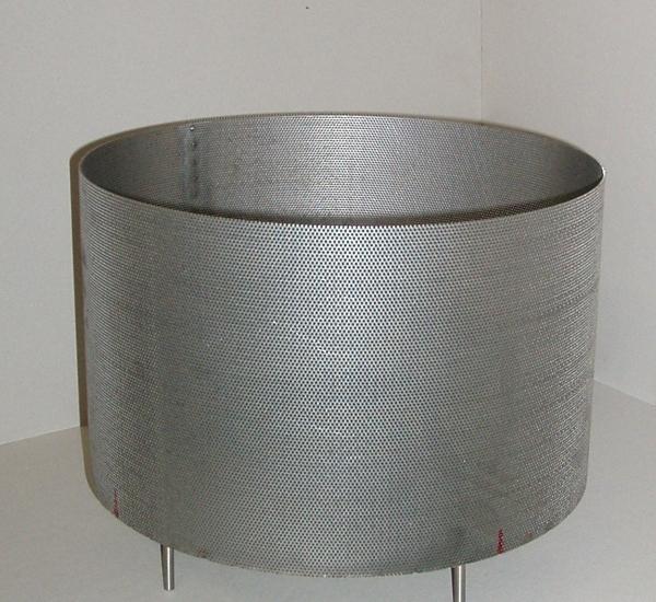 Panier perforé inox pour cuve de brassage 25l