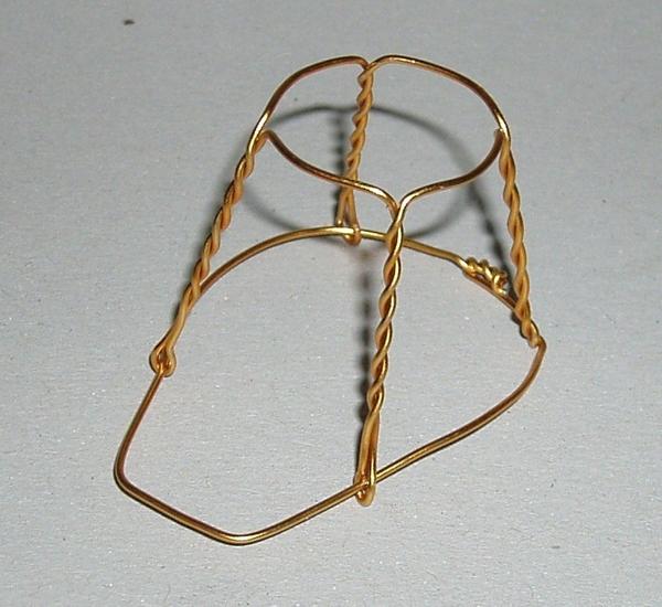 Muilbanden bronskleur 1.000st