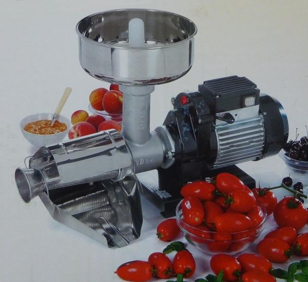 Moulin à tomates electrique