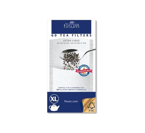 Filtre à thé XL jusqu'à 8 tasses 60p