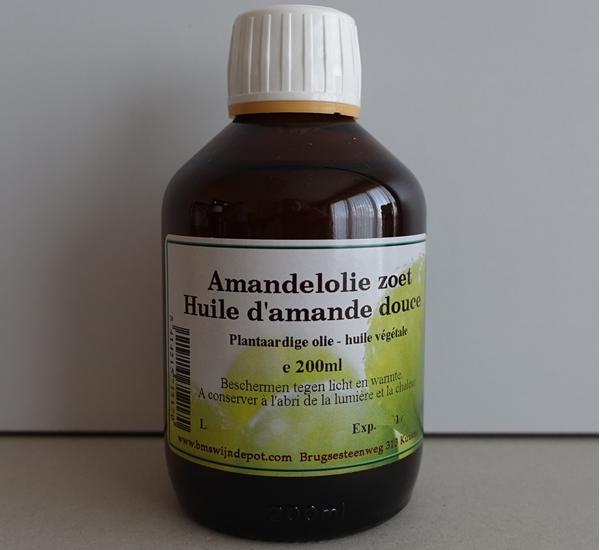 Amandelolie zoet 200ml