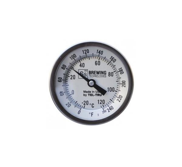 Bimetal thermomètre pr cuve de brassage SS brewtech