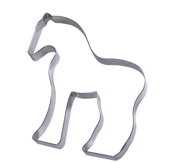 Emporte pièce cheval 20cm