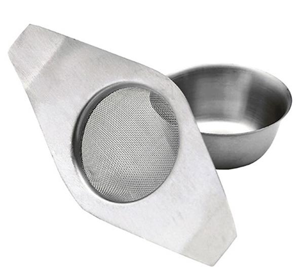 Filtre à thé KC met drip bowl
