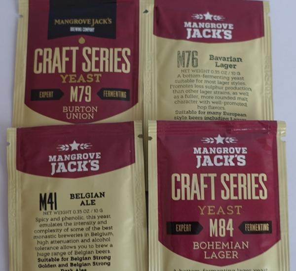 Mangrove Jack's levures à bière