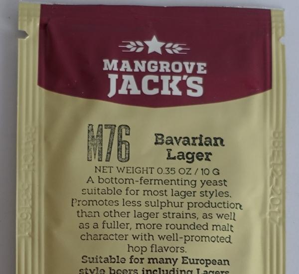 Biergist Mangrove Jack's Bavarian Lager M76 10g