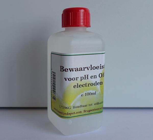 Solution conservateur pour mètre PH 100 ml