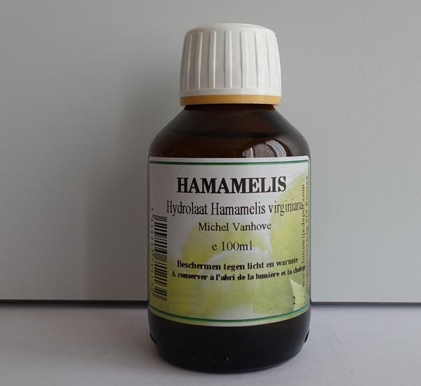 Hydrolaat Hamamelis 100ml (Michel Vanhove)