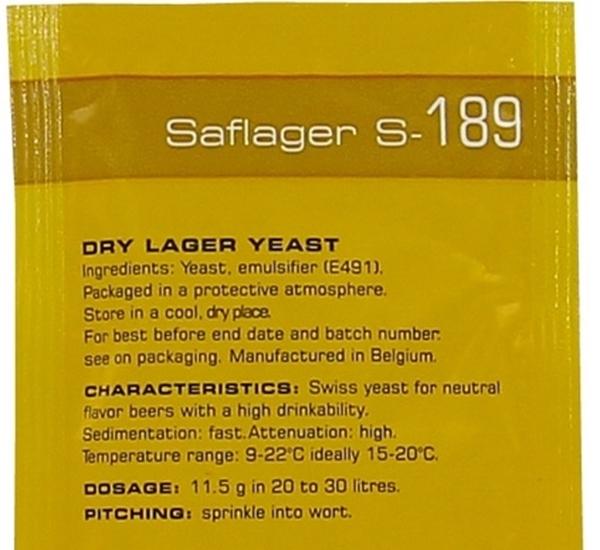 Saflager S-189 11,5g