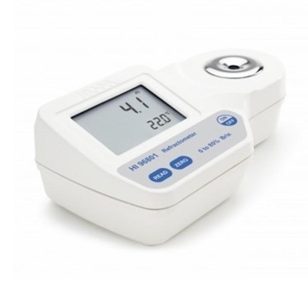 Refractometer digitaal HI96801 voor sucrose 0-85 Brix