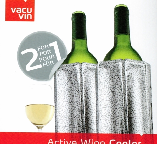 Rapid Ice Wine Cooler Silver 2p