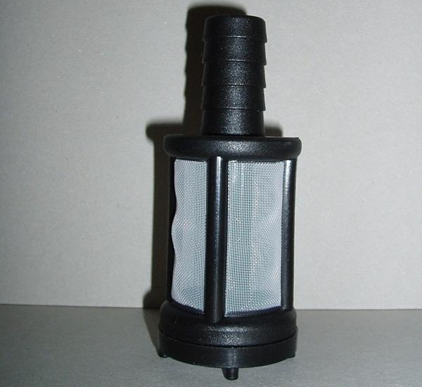 Pot filtrant pour tuyau diam.16mm