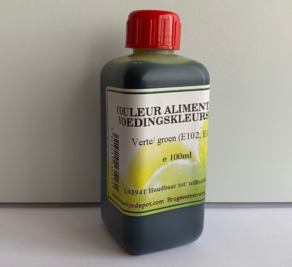 Couleur alimentaire vert 100ml