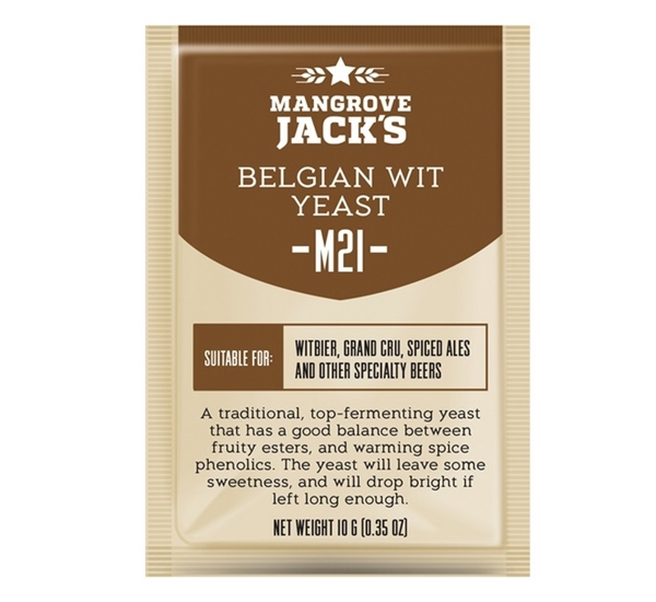 Biergist Mangrove Jack's Belgian Wit M21 10g