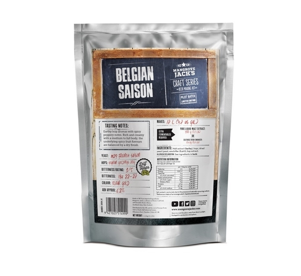 MJ Craft Series Belgian Saison (limited edition)