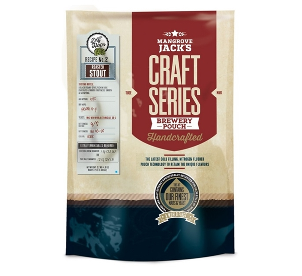MJ Craft Series Roasted Stout met dry hops